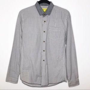 Descendant of Thieves Grey Stripe Shirt